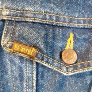 Vintage Roebucks Western Wear denim jacket